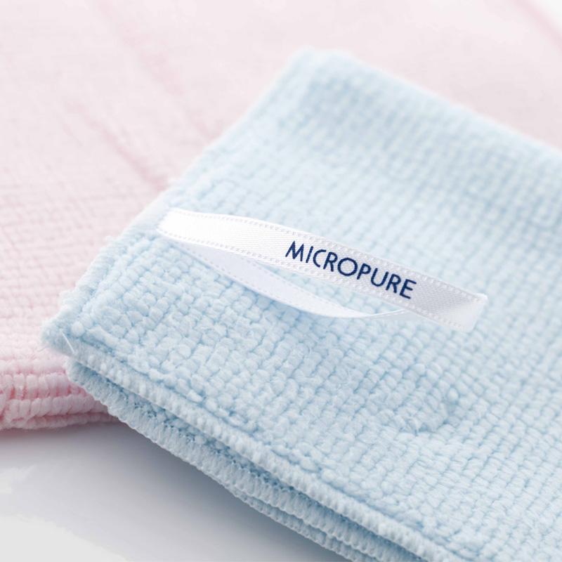 ミクロピュア 洗顔タオル
