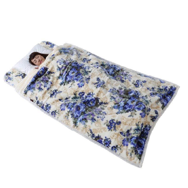 TEIJIN あったか毛布 コサージュ柄(ダブル)完売しました!