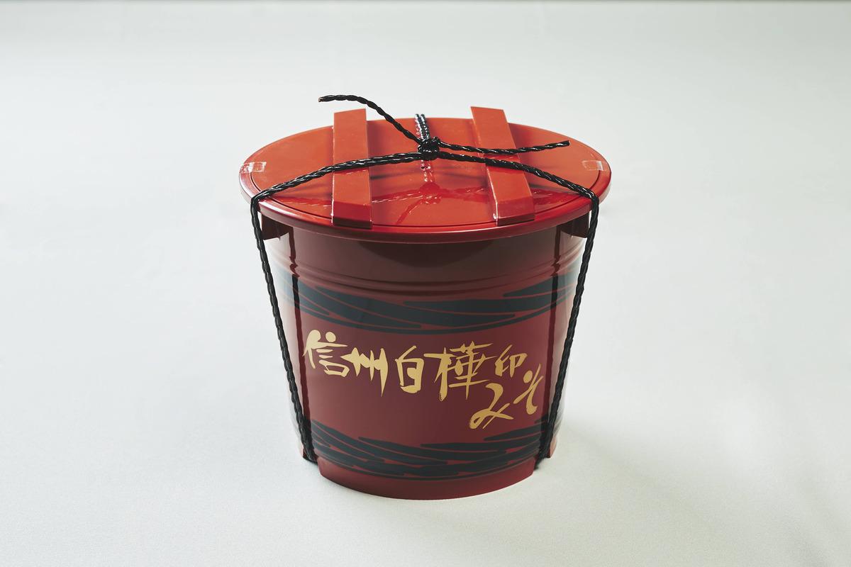 信州白樺印みそ 4kg 化粧樽