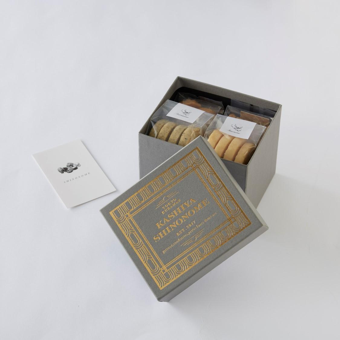8/13~17発送【期間限定】菓子屋シノノメ・焼き菓子とnittoh.1909・紅茶のセット(Sri Lanka Dimbula Assort 2021)