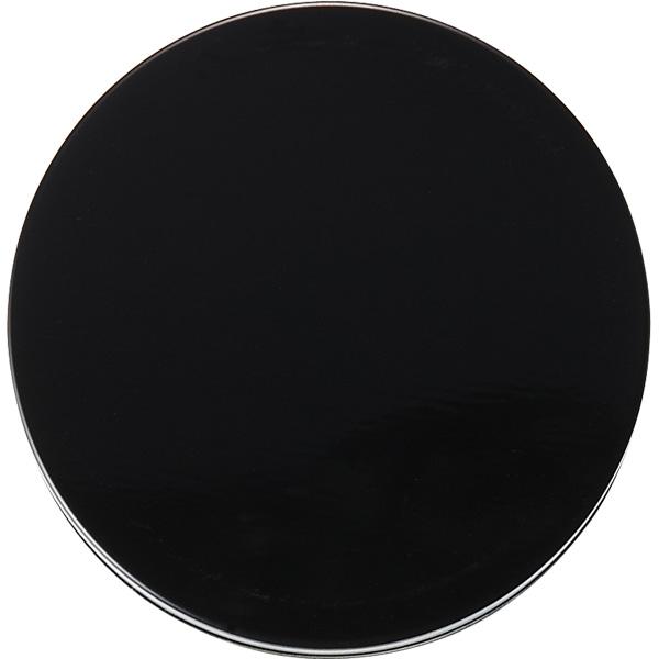 カラー缶(柄なし)黒