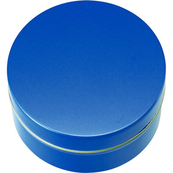 カラー缶(柄なし)青