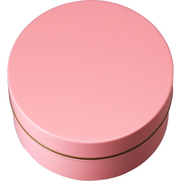 カラー缶(柄なし)ピンク