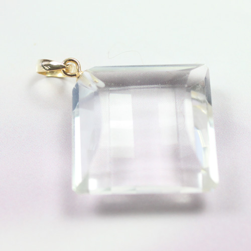 水晶ペンダント K18  〔5073〕