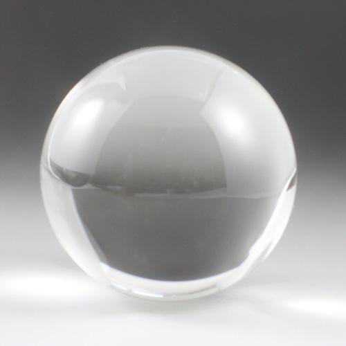 最高級天然水晶玉 クリスタル 87mm(2.9寸) 930g 最高級透明水晶 宝石鑑別書付き 〔2589〕