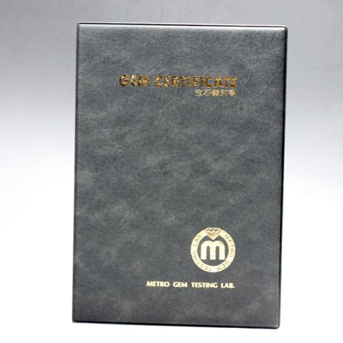 超極上天然透明水晶 AA 82.7mm(2.72寸) クリスタル 785.3g 木製台座・桐箱付き・ 宝石鑑別書付き 〔3920〕