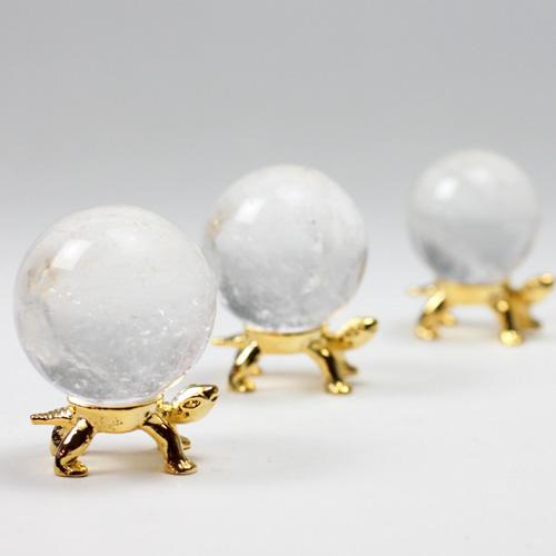 天然水晶玉 〔5185〕 21mm-32mm