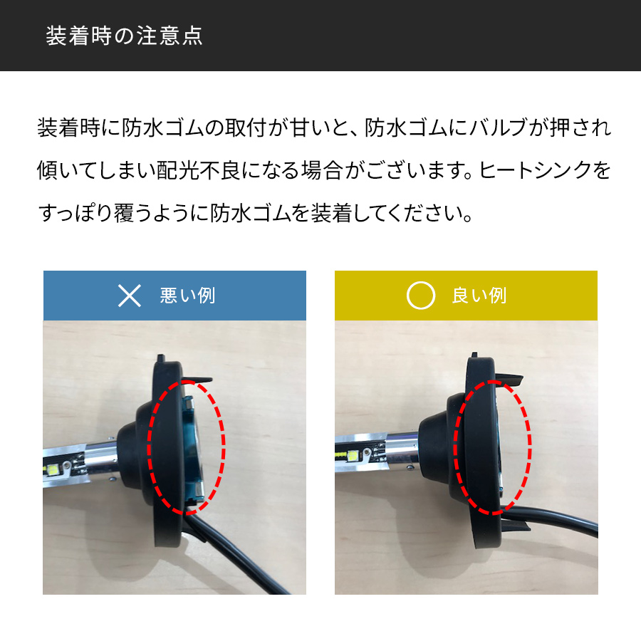 H4 軽バン・軽トラ専用 標準モデル LEDヘッドライト かんたん取付交換 4500/5000lm(ルーメン)6000K/6500 車検対応 2個セット 日本ライティング【WD004K】