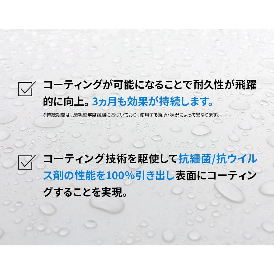 【3点セット】抗菌/抗ウイルス機能性コーティング剤 【NCV1000FK】