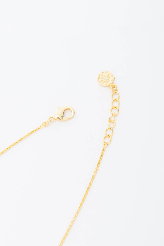 【天然石】どんぐりチャームのネックレス