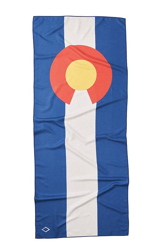 81 COLORADO FLAG TOWEL