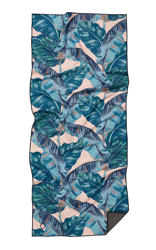 BANANA LEAF 14 TEAL TOWEL