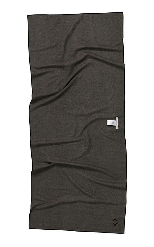 MUD CLOTH 19 BLACK TOWEL