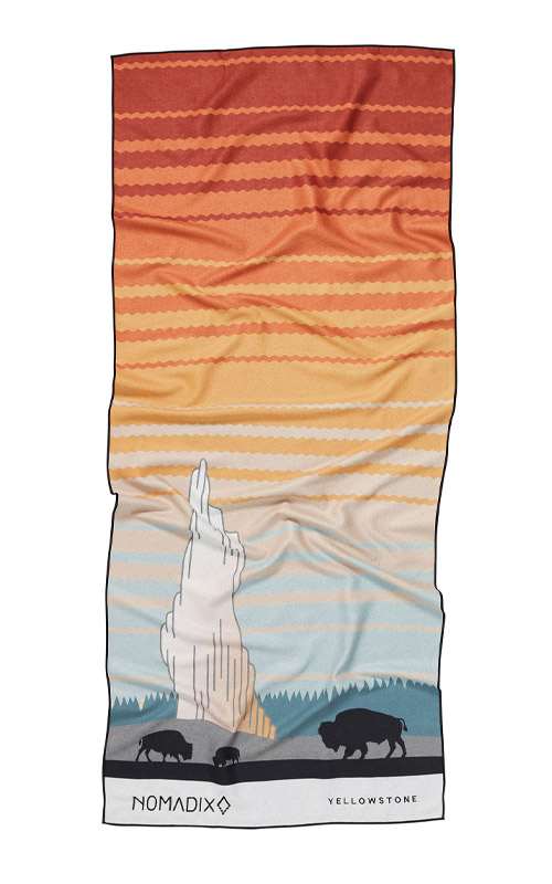 29 YELLOW STONE TOWEL