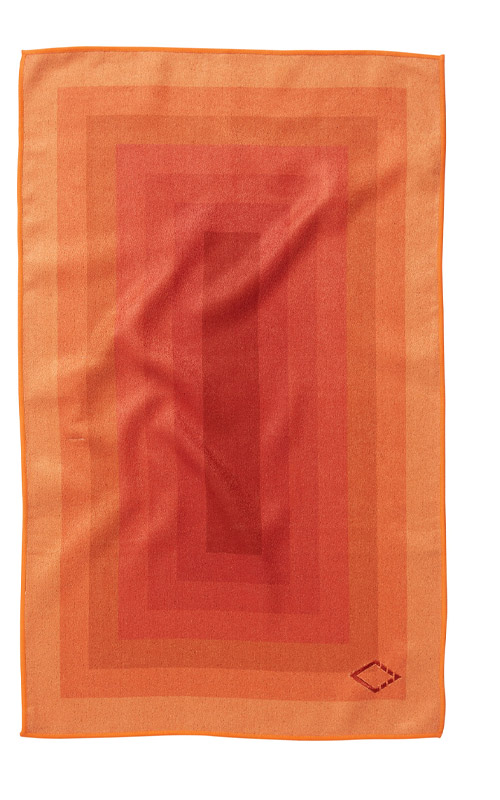 ZONE 37 ORANGE HAND TOWEL