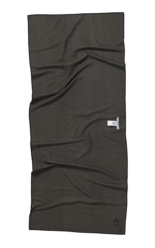 45 COCORA BLACK AND TAN TOWEL