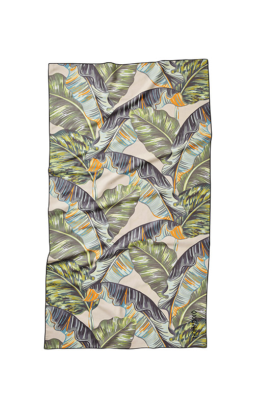 BANANA LEAF 13 GREEN ULTRALIGHT TOWEL