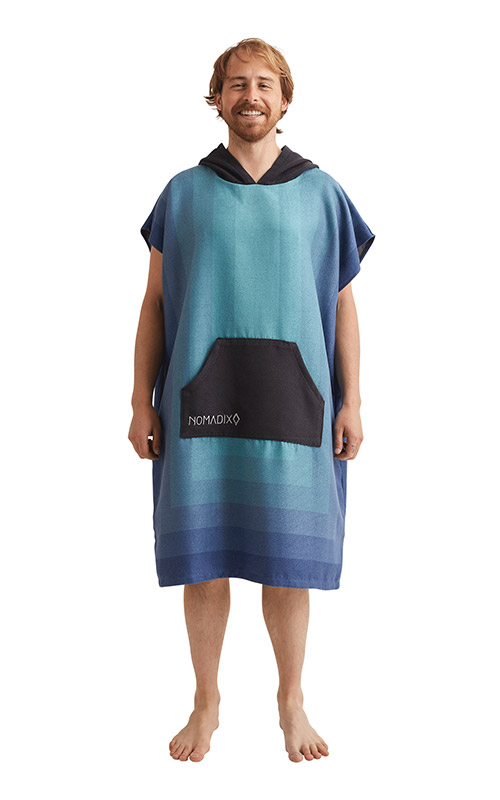 ZONE 52 TEAL CHANGING PONCHO