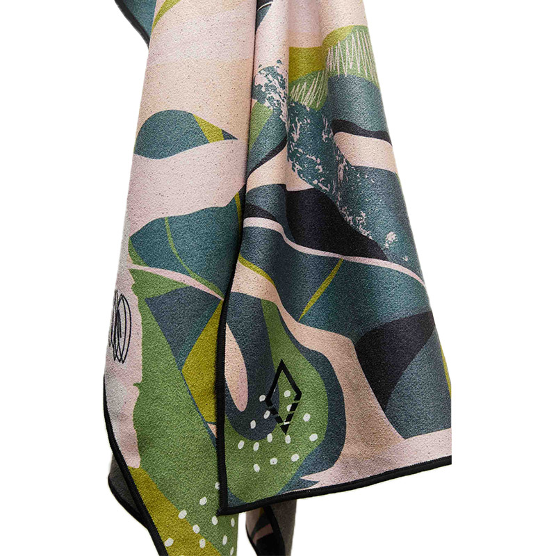 MONSTERA 66 GREEN PINK TOWEL