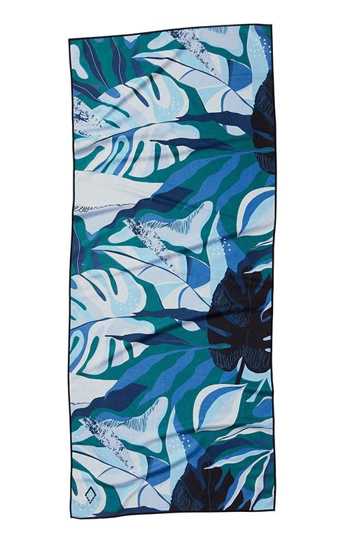 MOTSTERA 67 BLUE TOWEL