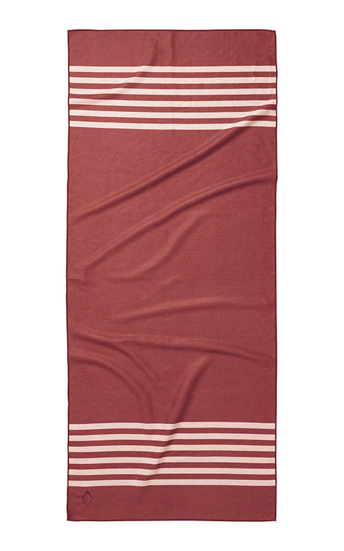POOL SIDE 78 CRIMSON TOWEL