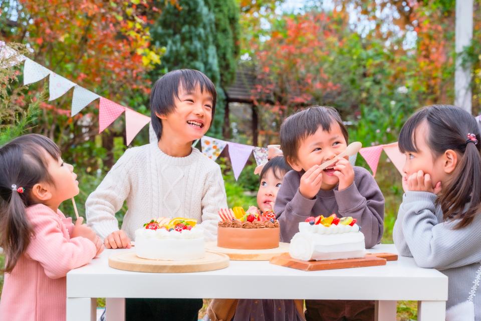 【宅配便受取】卵アレルギー対応うさぎちゃんケーキ