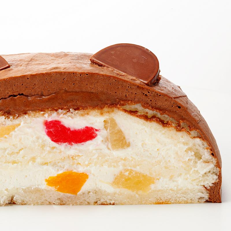 【宅配便受取】卵アレルギー対応くまさんケーキ