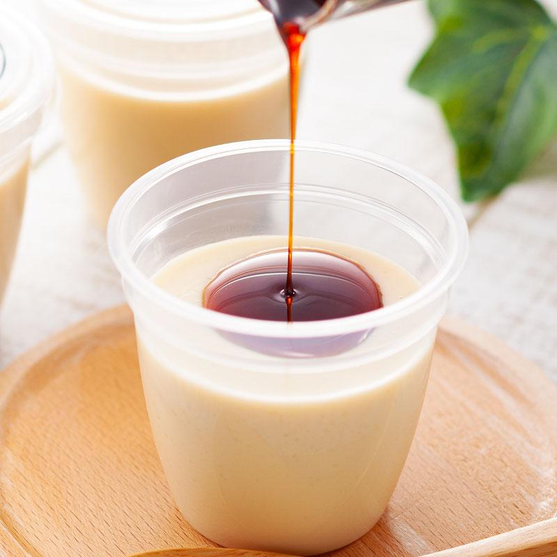 【宅配便受取】卵・乳・小麦を使っていないのに、美味しい「みんなでにっこりプリン」5個セット
