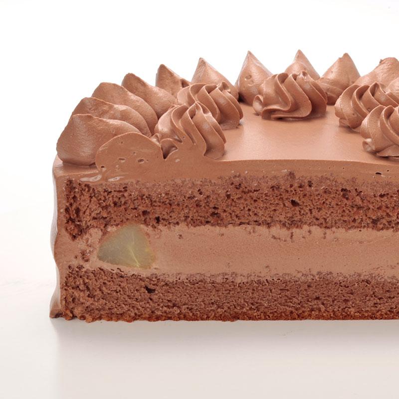 12/15-26受取【店舗受取】Egg Free [卵不使用] チョコレートデコレーションケーキ