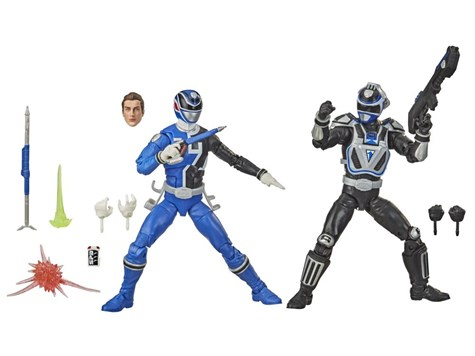 パワーレンジャー ライトニング コレクション S.P.D. Bスクアッド vs. Aスクアッド ブルー レンジャー