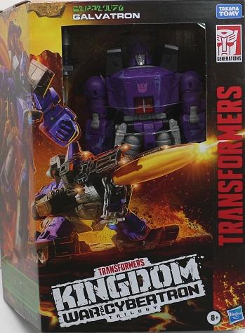 TF 2021 WFC Kingdom [Leader] ガルバトロン [パケダメージ]