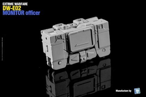 TF アフターパーツ Dr.Wu  DW-E03 ビッグ サージ & DW-E02 モニター オフィサー