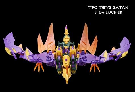 TF アフターパーツ TFC コンバイナー Satan S−04 ルシファー