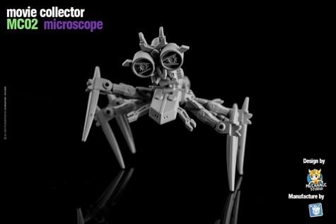 TF アフターパーツ Dr.Wu MC02 マイクロスコープ