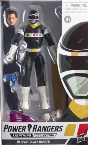 パワーレンジャー ライトニング コレクション W9 ブラック レンジャー [In Space]