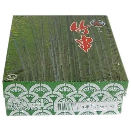 竹串 15cm Ф2.5mm 1kg×24箱入【メーカー直送または取り寄せ・沖縄、北海道、離島不可】