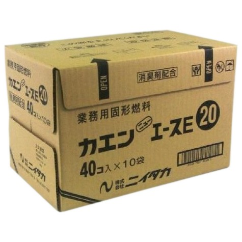 【送料無料】ニイタカ ケース入 カエンニューエースE 20g 40個パック×10(400個入)