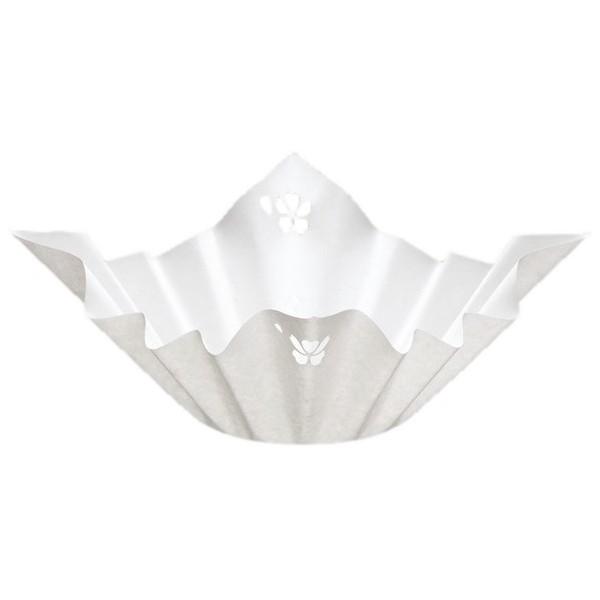 紙鍋 SKA-163 切絵紙鍋(桜格子・さくらこうし) 250枚入×6箱(1500枚)【取り寄せ商品・即納不可】