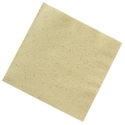 四つ折 茶殻入紙ナプキン CP4A 100枚×100袋入(無地)【メーカー直送または取り寄せ・代引き不可・返品不可】