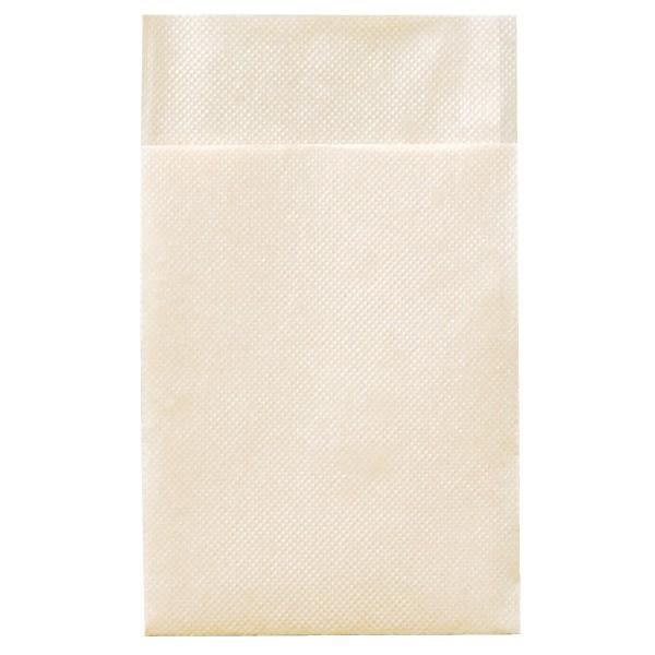 六ッ折 紙ナプキン 未晒 フラット 100枚×100入(10000枚)