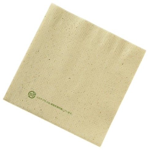 四つ折 茶殻入紙ナプキン CP4A IN 100枚×100袋入(茶殻説明文入り)【メーカー直送または取り寄せ・代引き不可・返品不可】