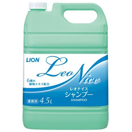 ライオン レオナイス シャンプー 4.5L×3本入●ケース販売お徳用