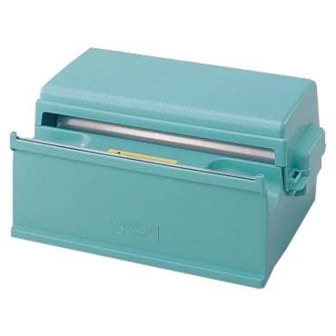 三菱樹脂 簡易手動ラップ包装機 ダイアラップカッター 300型 ブルー