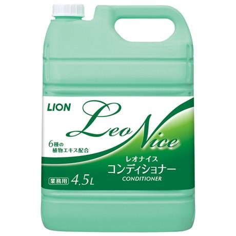 【セール】ライオン レオナイス コンディショナー 4.5L×3本入●ケース販売お徳用