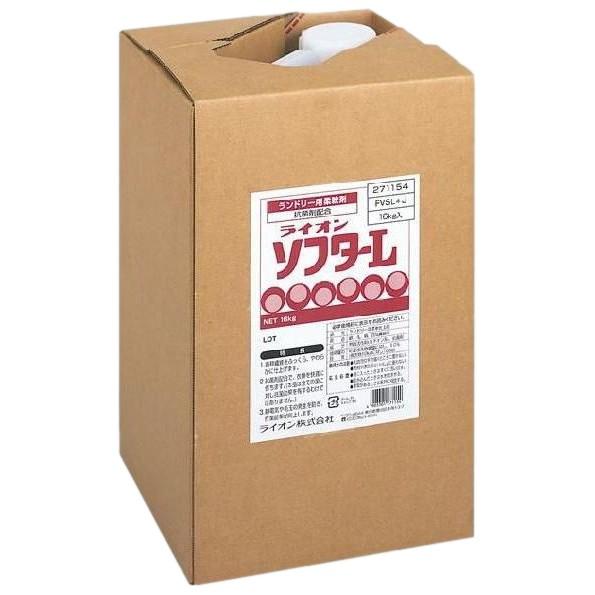 ライオンソフターL ランドリー用柔軟剤 16kg【取り寄せ商品・即納不可・代引き不可・返品不可】