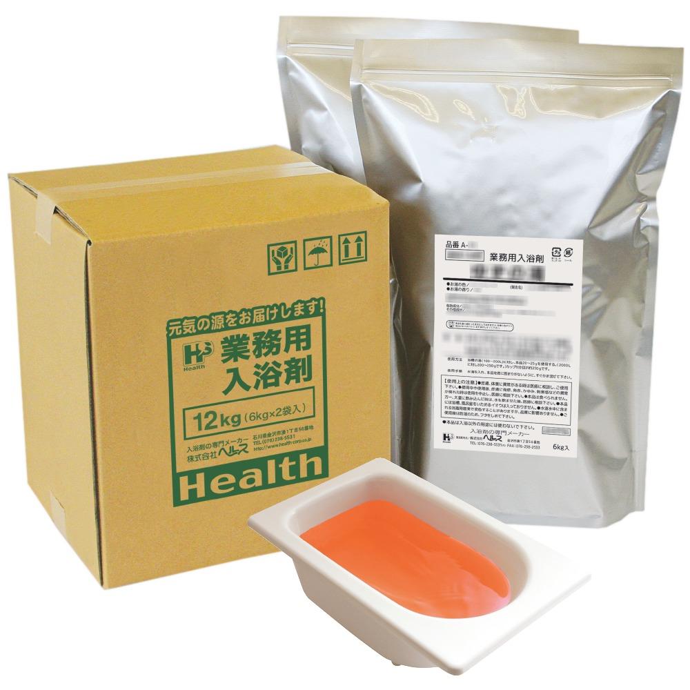 【ポイント5倍】業務用入浴剤 A-33 美肌スキンケア カモミールのお風呂 12kg(6kg×2袋)【メーカー直送または取り寄せ】