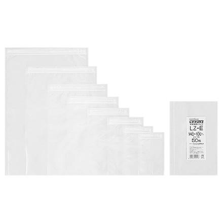 ラミジップ LZ 底開き平袋タイプ LZ-K 400×280mm 50枚×14袋●ケース販売お得用【メーカー直送】