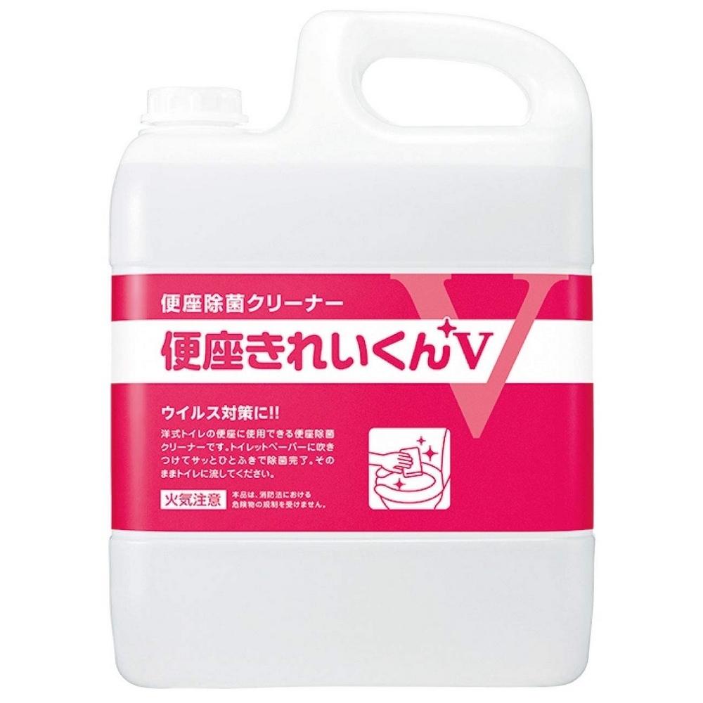 サラヤ 便座除菌クリーナー 便座きれいくんV 5L【取り寄せ商品・即納不可】