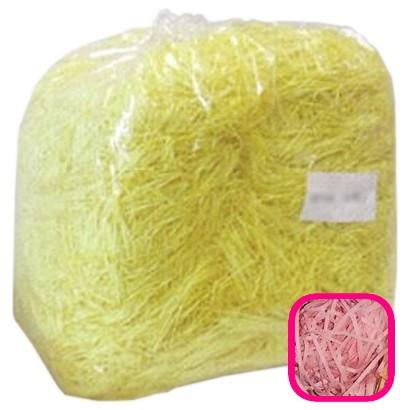 【送料無料】紙パッキン(ペーパークッション) カラーパッキン 1mm幅 サーモン 1kg【メーカー直送・代引き不可・時間指定不可・沖縄、離島不可】