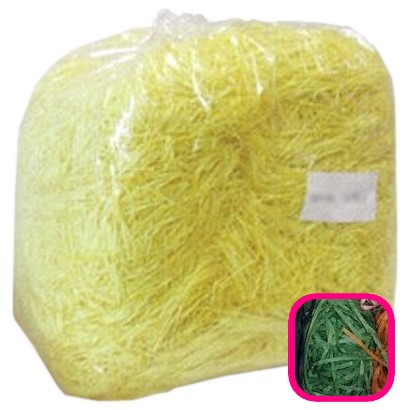 【送料無料】紙パッキン(ペーパークッション) カラーパッキン 1mm幅 オリーブ 1kg【メーカー直送・代引き不可・時間指定不可・沖縄、離島不可・即納不可】